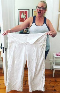 """I wanted warp speed weight loss, without killing myself doing it."" Picture: Bernadette Fisers"